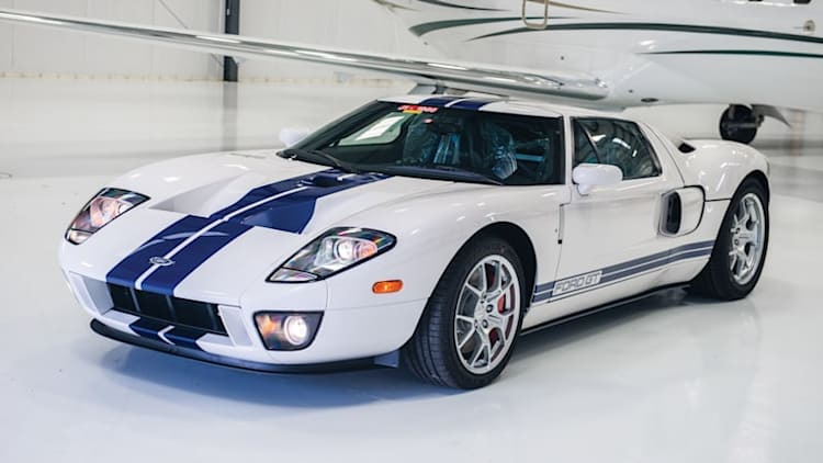 This 10.8-mile Ford GT could be yours