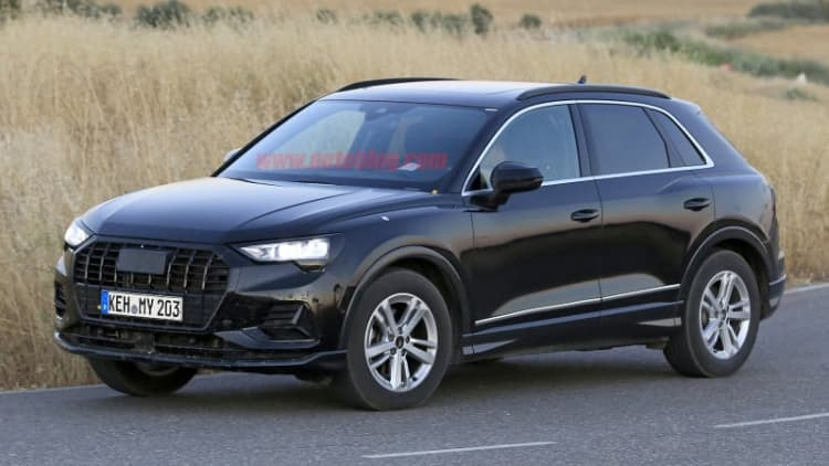 Next-generation Audi Q3 crossover revealed in spy photos