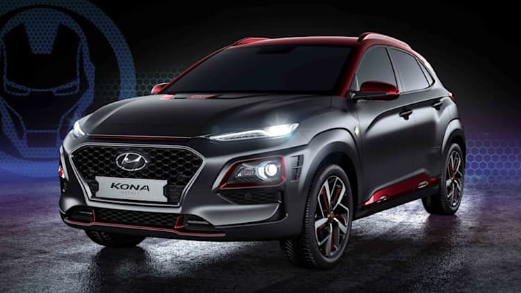 2018 Hyundai Kona Iron Man Edition is way more subtle than the Ant-Man Veloster