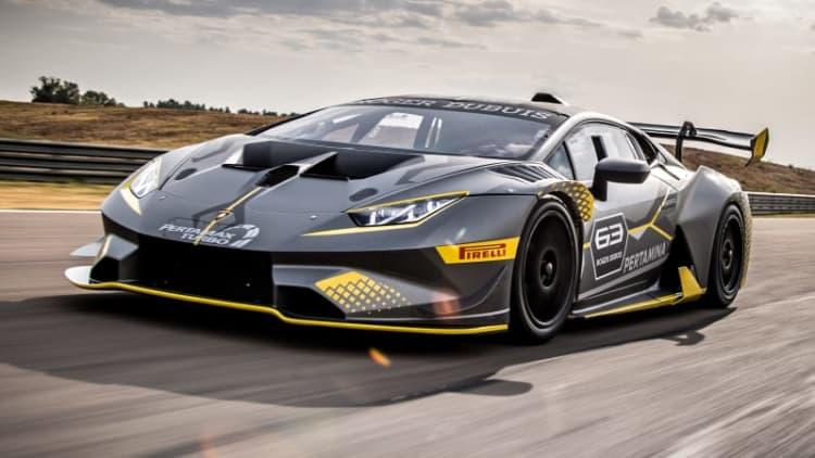 Lamborghini introduces Huracan Super Trofeo EVO