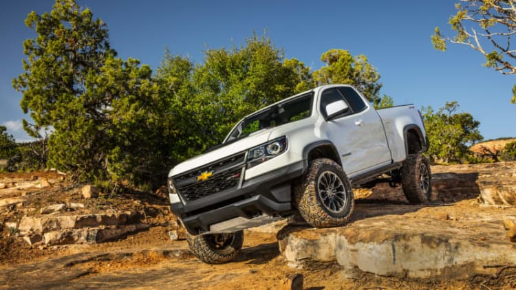 Chevy Colorado side curtain airbags are deploying unexpectedly on off-road trails