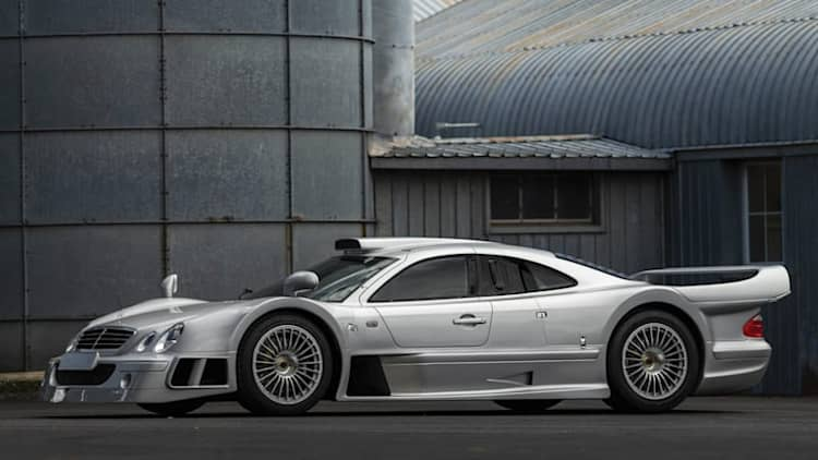 1998 Mercedes-Benz AMG CLK GTR chassis No. 9 going up for auction