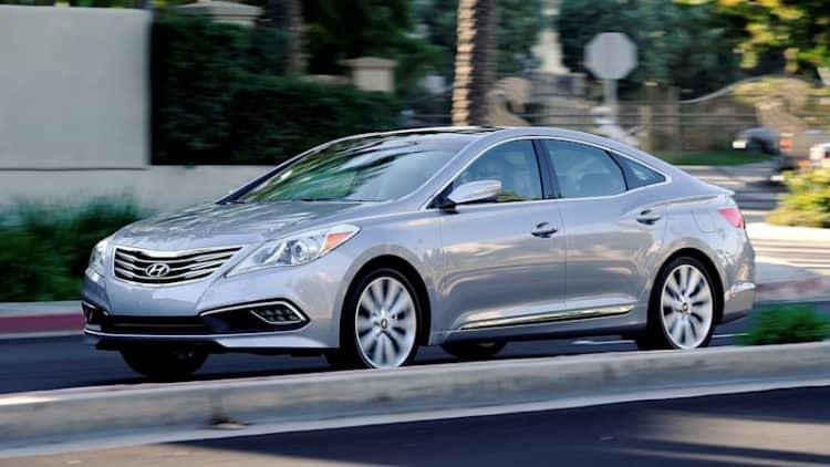 Hyundai Azera large sedan officially dead in America