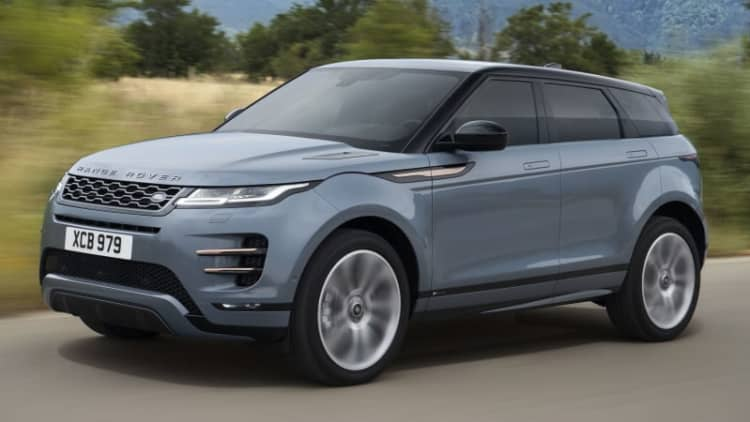 2020 Range Rover Evoque debuts with brand's first 48-volt hybrid system