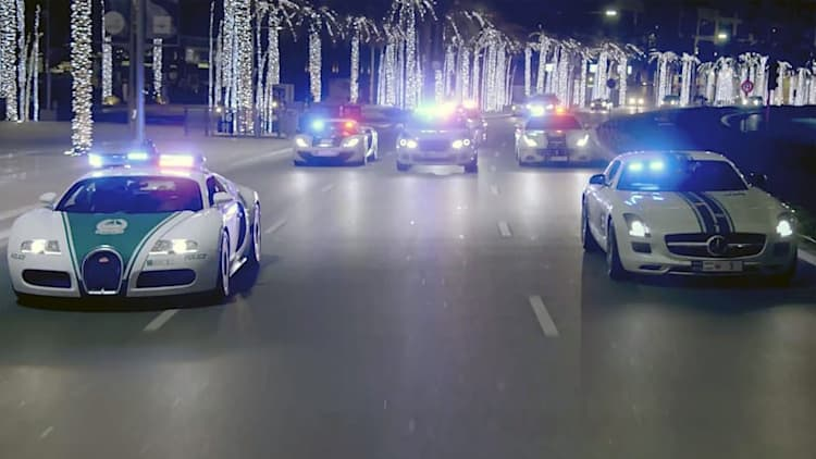 In case you forgot, the Dubai Police supercar fleet is the coolest