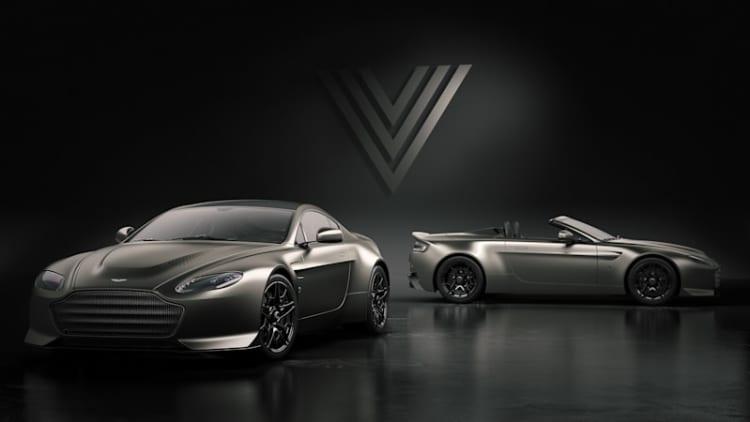 Aston Martin V12 Vantage V600 sends old model out with 600-horsepower bang