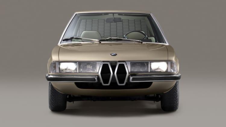 BMW re-created a 1970 concept car called the Garmisch