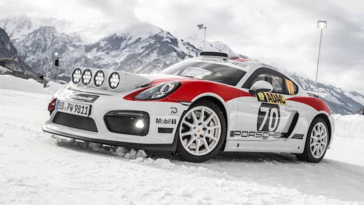Porsche 718 Cayman GT4 Clubsport R-GT rally car confirmed for production, racing