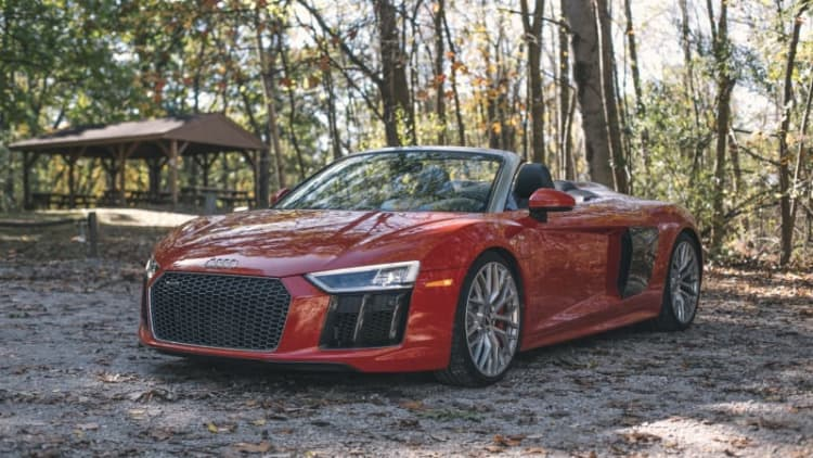 2017 Audi R8 V10 Spyder Drivers' Notes | The everyday supercar