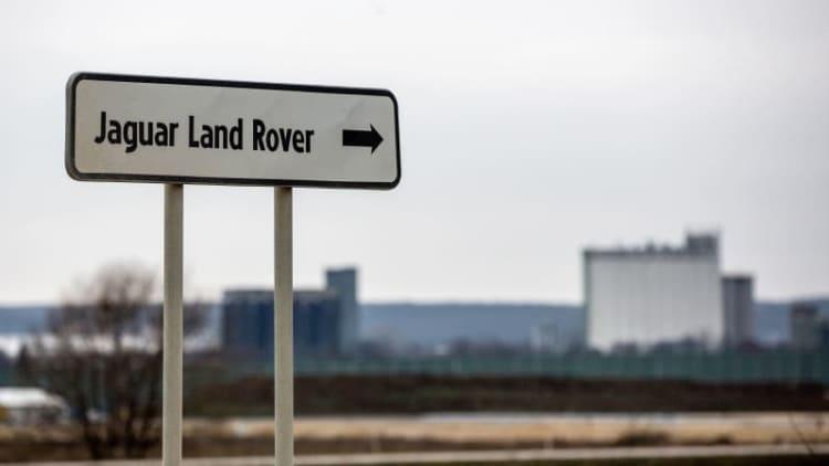 Jaguar Land Rover opens new $1.6 billion factory in Slovakia