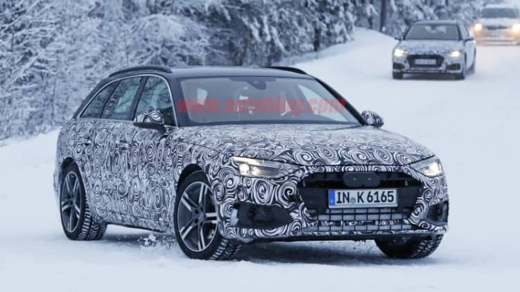 2020 Audi A4 Avant spy photos show yet another refresh