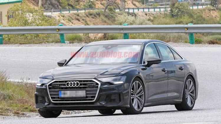 2019 Audi S6 spied testing in Southern Europe