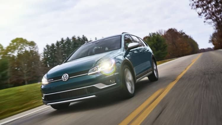 2018 Volkswagen Golf Alltrack Drivers' Notes | High country