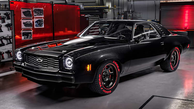 Chevy Chevelle, C10 and K10 Silverado display new crate engines at SEMA