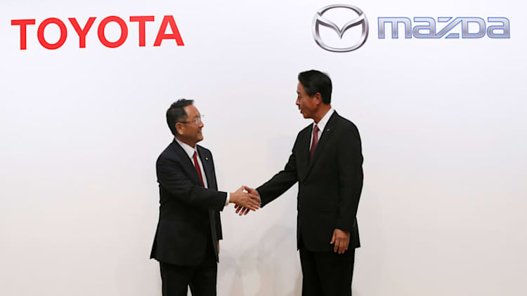 At least 15 states jockeying for Toyota and Mazda factory jobs