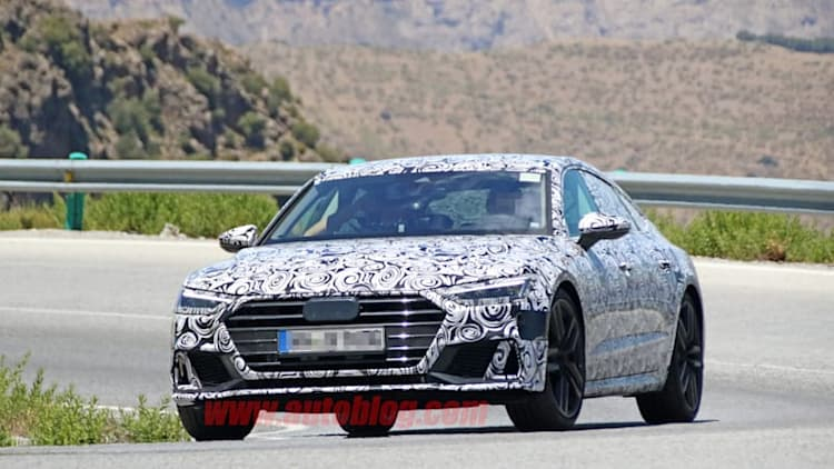 Next-gen Audi S7 looking hot in Southern Europe