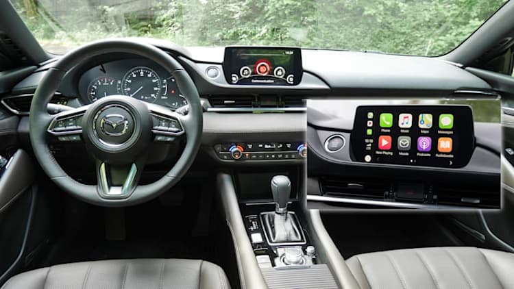 2018 Mazda 6 gains Apple CarPlay, Android Auto in September