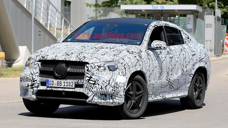 Next-generation Mercedes-Benz GLE-Class Coupe spied for the first time