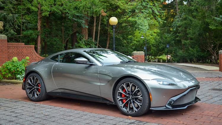 2018 Aston Martin Vantage Drivers' Notes Review   English style, German heart