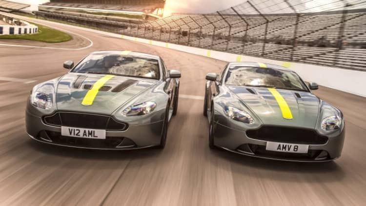 Aston Martin Vantage AMR is road-going follow-up to AMR Pro