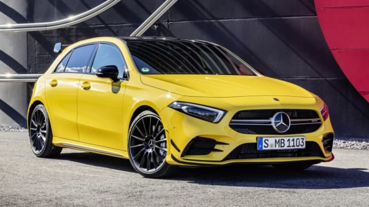 2019 Mercedes-AMG A 35 previews an even hotter A 45
