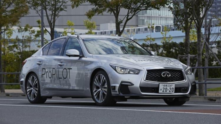 Nissan tests fully autonomous ProPilot tech on Tokyo roads