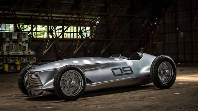 Infiniti Prototype 9 is a wonderfully beautiful EV grand prix car