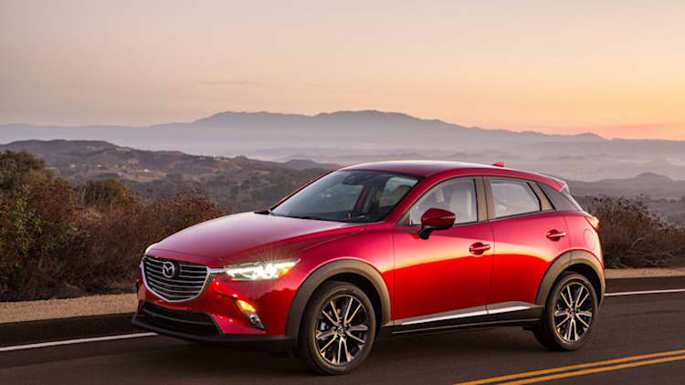 Mazda3 five-door vs. Mazda CX-3