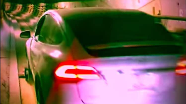Watch a Tesla Model X zoom inside a Boring Company tunnel