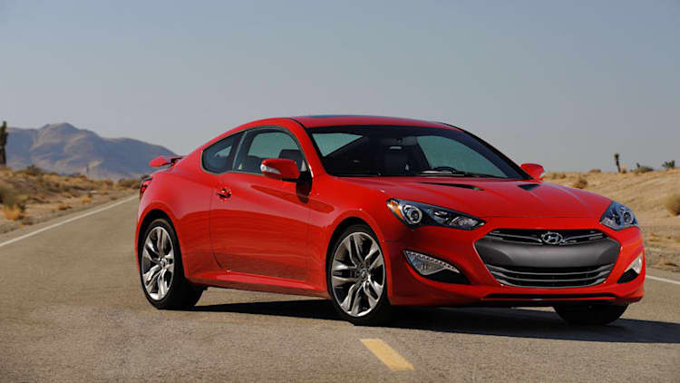 Hyundai dumps Genesis Coupe for upscale model