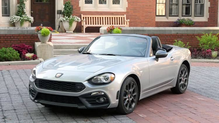 2017 Fiat 124 Spider Abarth   Drivers Notes