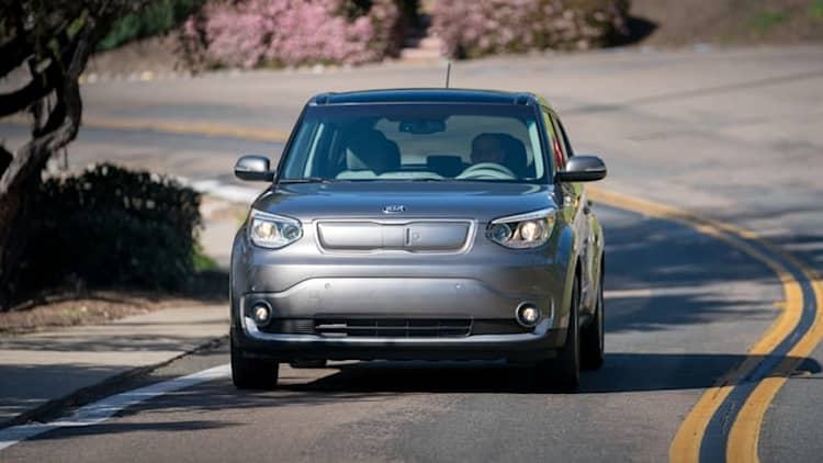 Kia Soul EV fitted with wireless charging