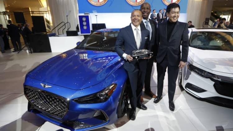 Genesis, Hyundai, Ram win North American Car, Utility, Truck of the Year at NAIAS
