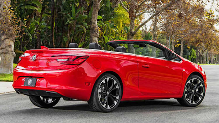 Buick Cascada dies the death everyone expected