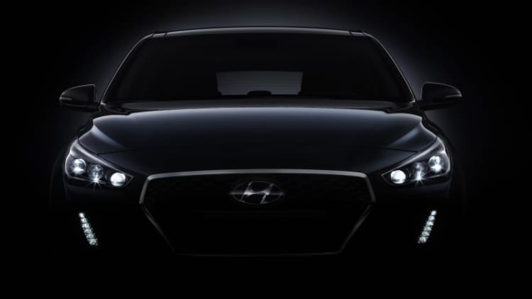 Next Hyundai Elantra GT hatchback previewed by i30 teaser