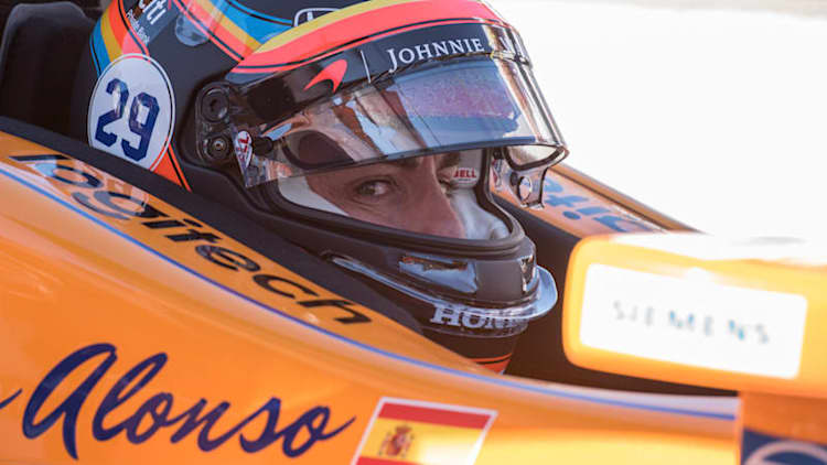 McLaren and Fernando Alonso will enter the Indianapolis 500 next year