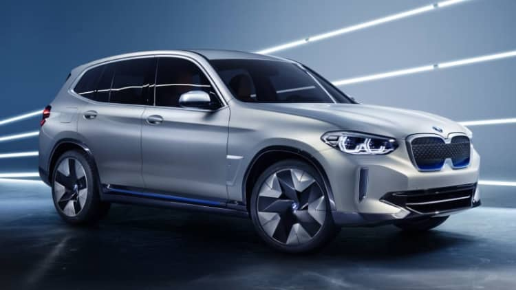 BMW Concept iX3 previews the brand's next full EV