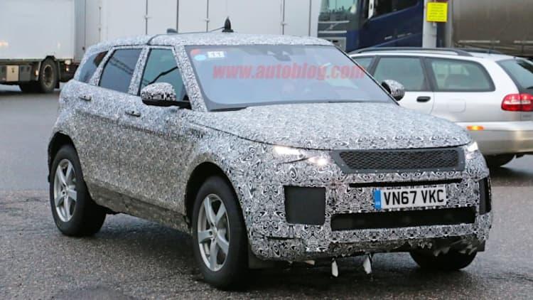 New Range Rover Evoque looks like a baby Velar in new spy shots
