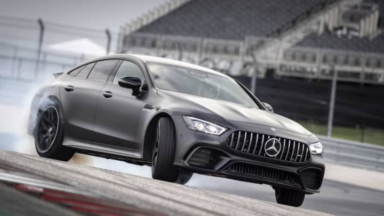 2019 Mercedes-AMG GT Four-Door First Drive | Pigs, hammers and a heart of gold