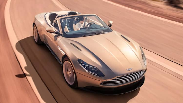 Aston Martin DB11 Volante loses its roof and four cylinders