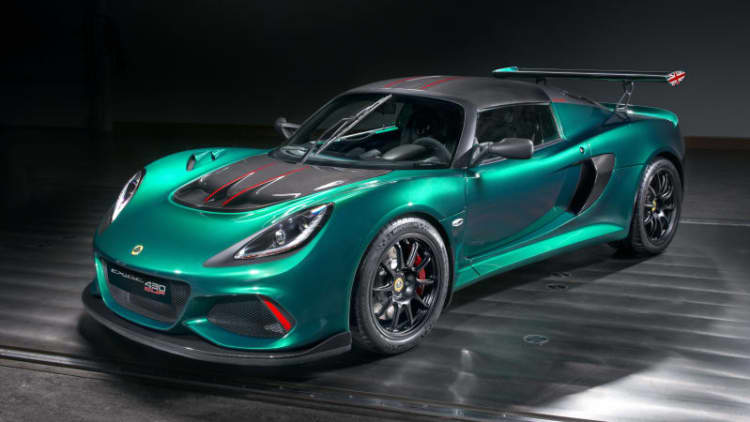 Lotus pumps Exige up to 430 horsepower