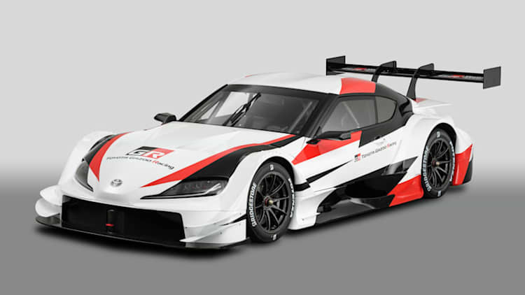 Toyota Supra Super GT race car concept debuts at Tokyo Auto Salon