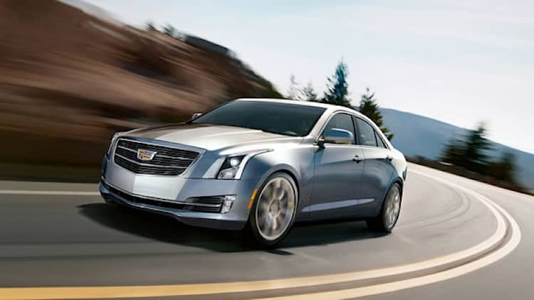 Cadillac recalls 120k examples of ATS for fire risk