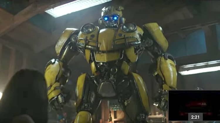 Bumblebee returns as a VW Beetle in new Transformers movie trailer