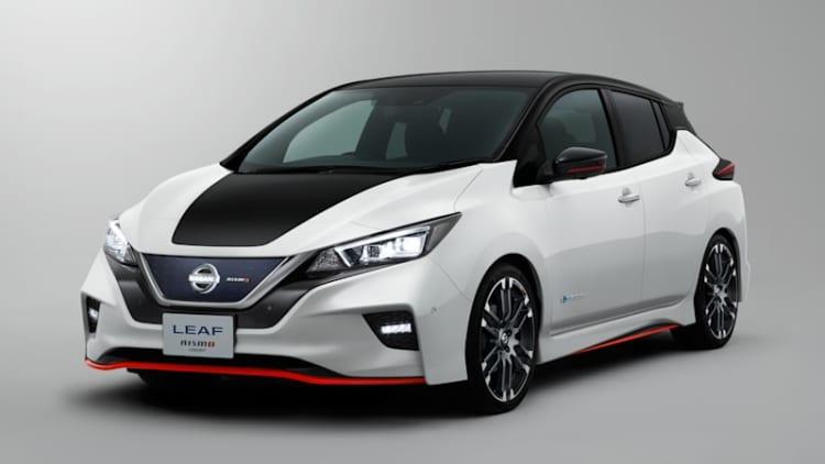 Nissan Leaf Nismo concept brings better handling and aerodynamics