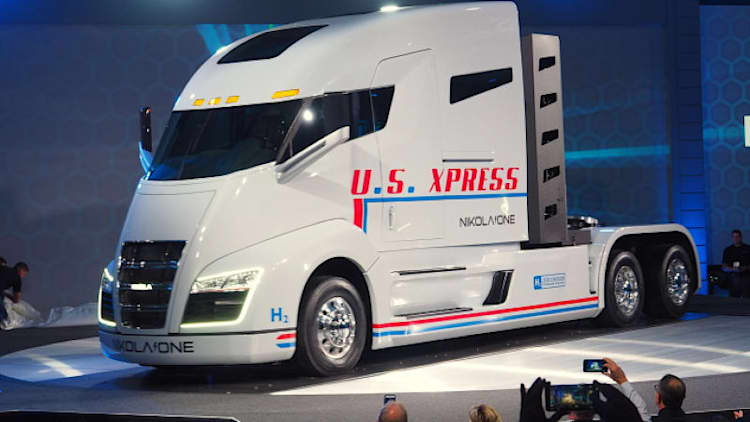 Bosch partners with Nikola on hydrogen electric long-haul truck