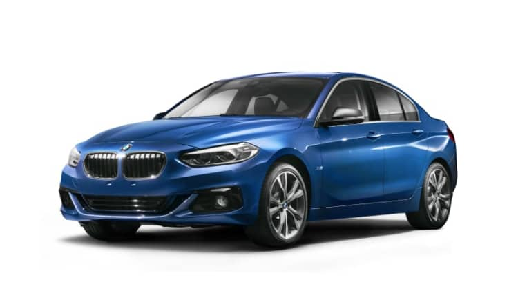 BMW 1 Series Sedan is a CLA fighter only for China