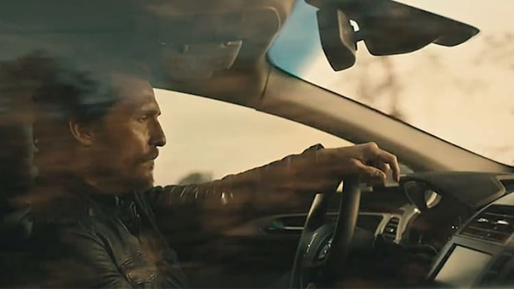 Matthew McConaughey Lincoln pitches drive on with new MKZ ads