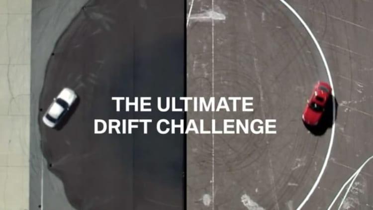 BMW pitting self-drifting car against drift champion