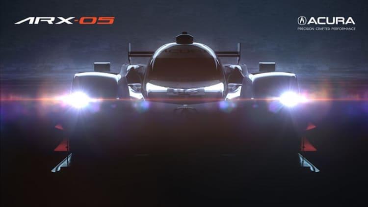 Acura to debut RLX sedan and ARX-05 racecar at Monterey